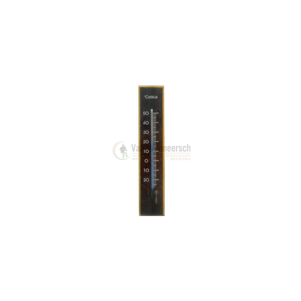 THERMOMETER BIN.20CM DONK.HOUT 234010 REF:890017