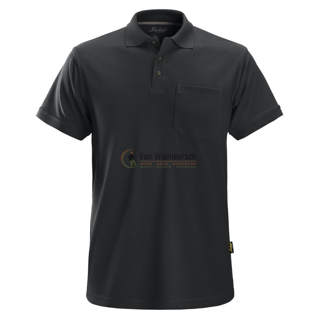 POLOSHIRT 2708 BLACK MT:S 27080400004 SNICKERS
