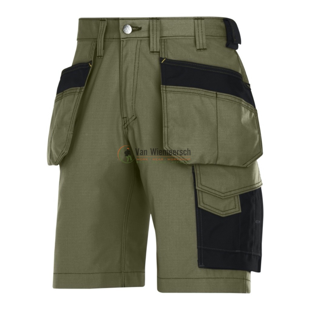 SHORTS + HOLSTERZ.. RIP-STOP 3023 OLIVE GREEN 50 3