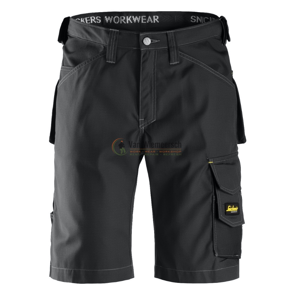 SHORTS. RIP-STOP 3123 BLACK MT:46 31230404046 SNIC