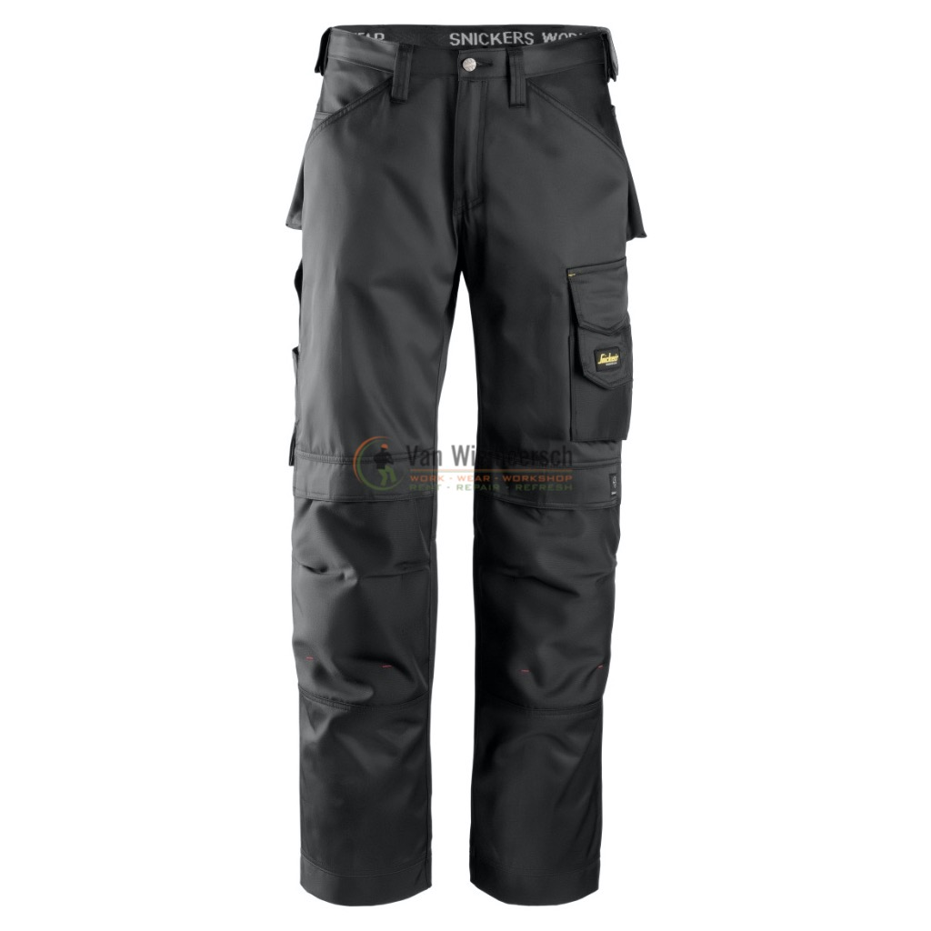 DURATWILL BROEK 3312 BLACK MT:124 REF:33120404124 SNICKERS