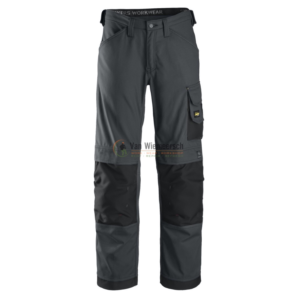 CANVAS+ BROEK 3314 STEEL GREY MT:50 REF:33145804050 SNICKERS