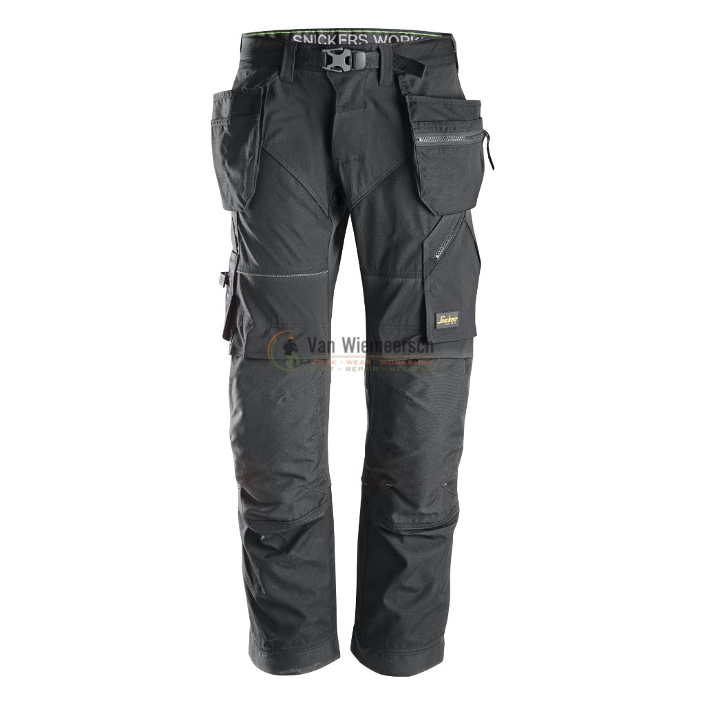 FLEXIWORK TROUSERS+ HP 6902 BLACK 48 69020404048 S