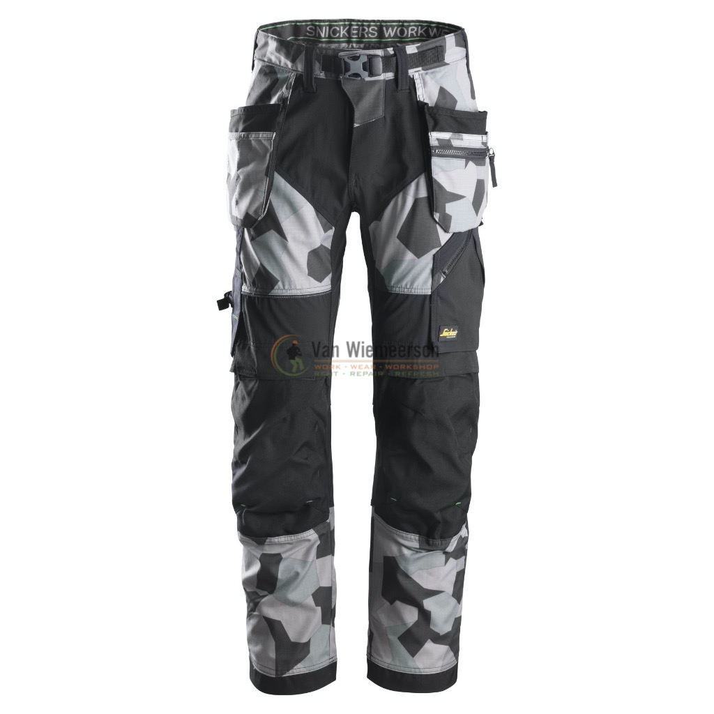 FLEXIWORK TROUSERS+ HP 6902 CAMOGREY 48 6902870404