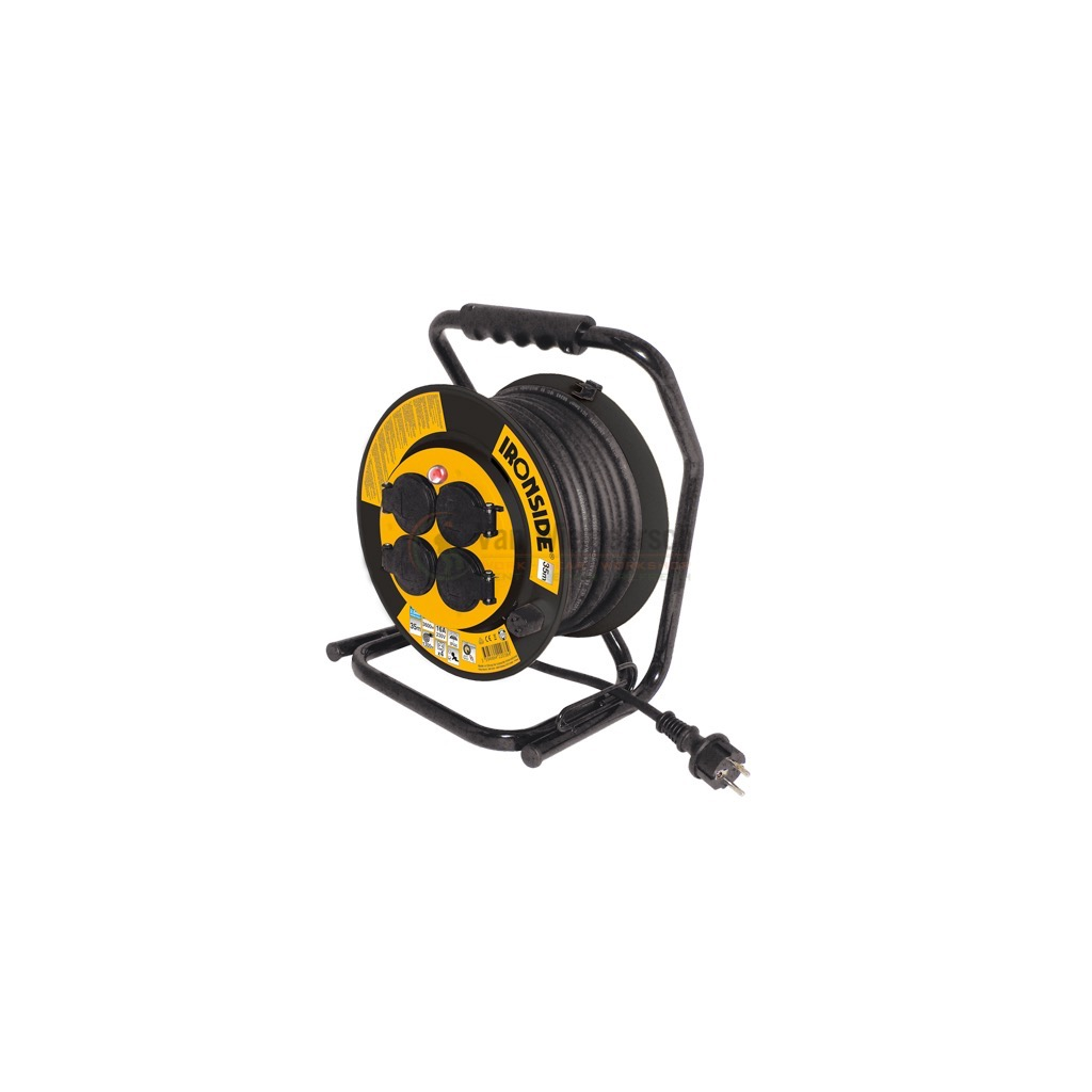 KABELHASPEL ANTI-TWIST IP44 H07RN-F 3G2.5 35M IRONSIDE