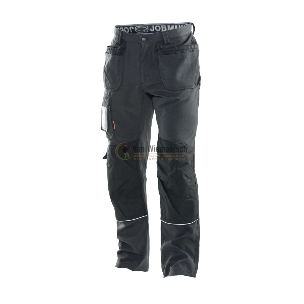 WORK TROUSER WITH HOLSTER POCKETS GREY/BLACK 281206-9899-C152 JOBMAN