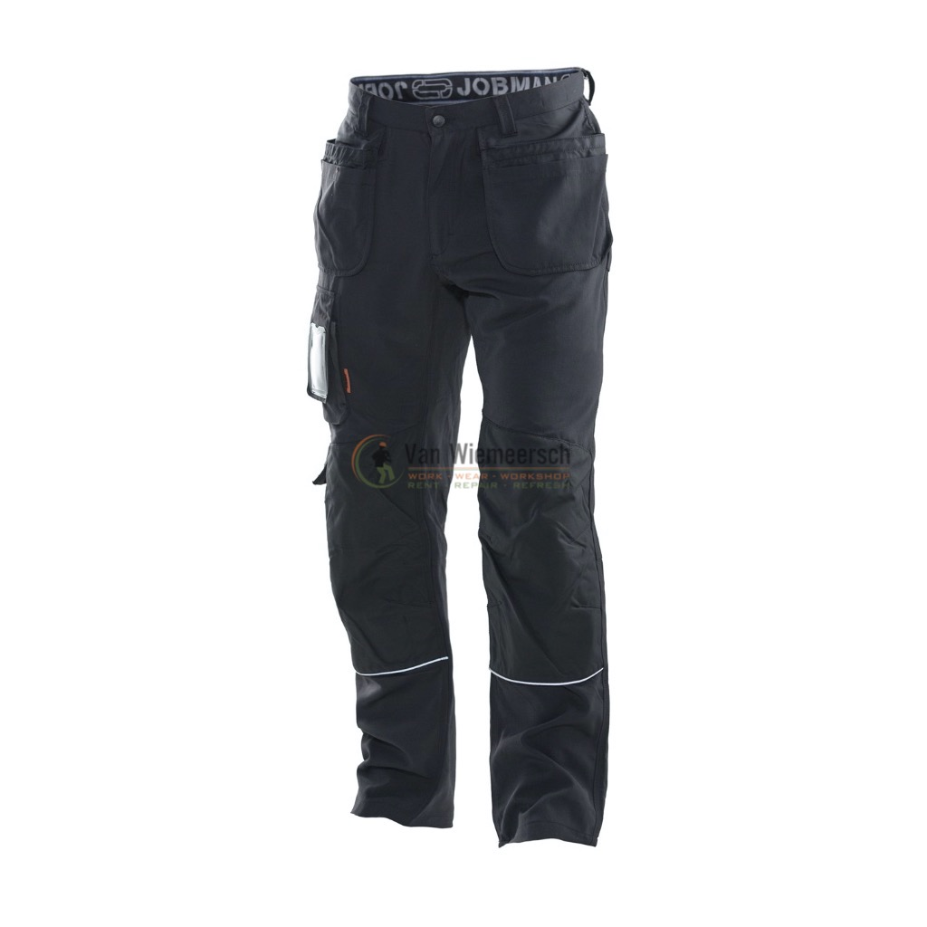 WORK TROUSER WITH HOLSTER POCKETS BLACK 281206-9999-C50