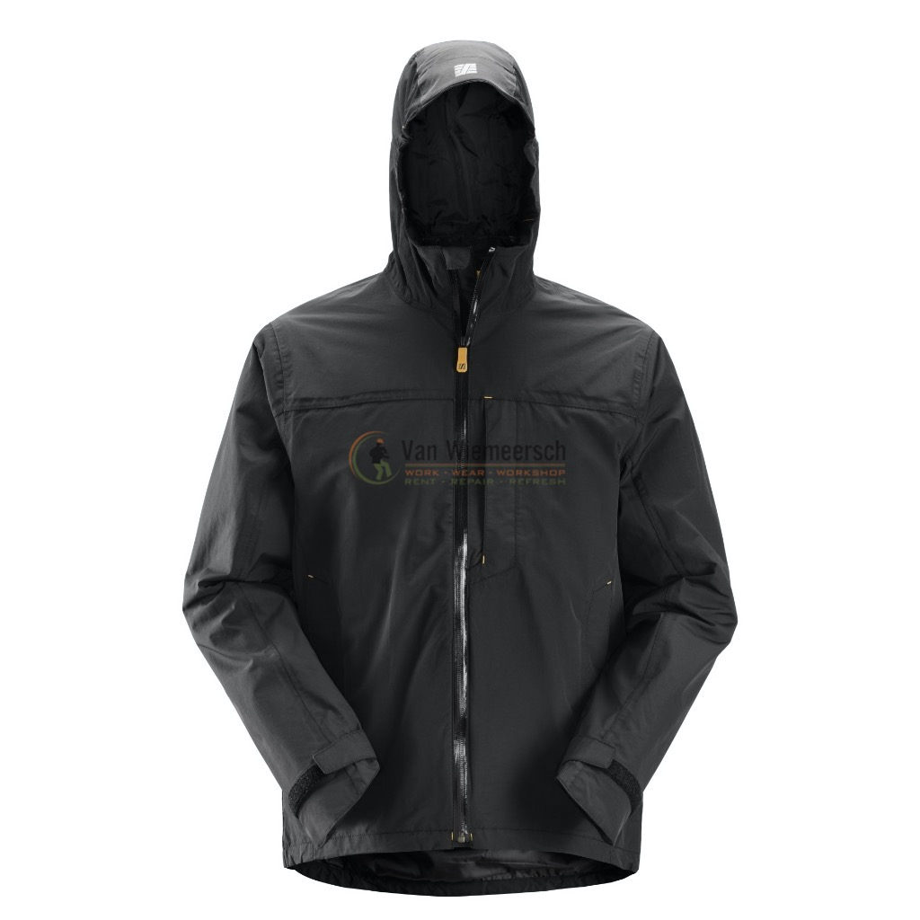 AW WATERPROOF SHELL JACK 1303 BLACK MT:S REF:13030400004 SNICKERS