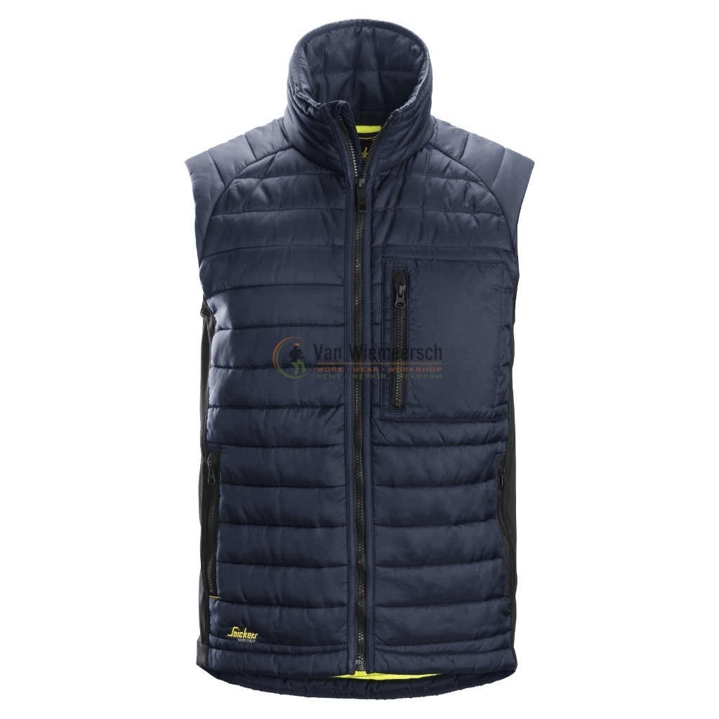4512 AW 37.5 INSULATOR VEST MT: S DONKER BLAUW REF:45129504004 SNICKERS