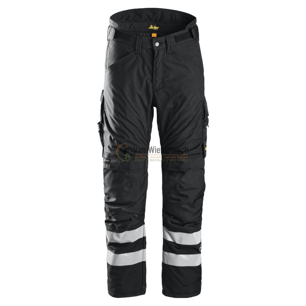 6619 AW 37.5 INSULATED TROUSER MT: XXXL SHORT ZWART REF:66190404019 SNICKERS