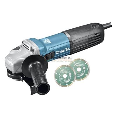 HAAKSE SLIJPER 125MM 1100W W/ANTI-RES GA5040RKDJ MAKITA