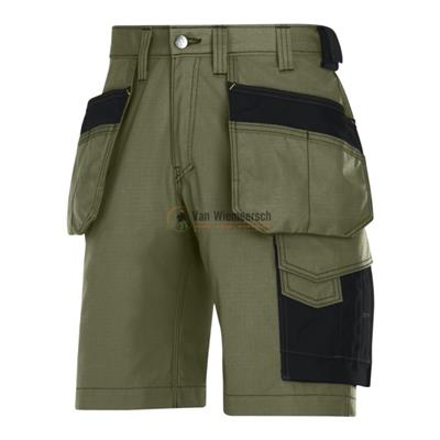 SHORTS + HOLSTERZ.. RIP-STOP 3023 OLIVE GREEN 52 3