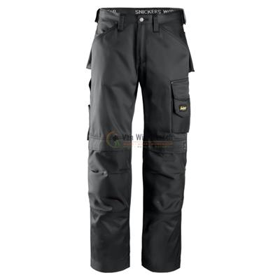 DURATWILL BROEK 3312 BLACK MT:48 REF:33120404048 SNICKERS