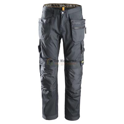 ALLROUNDWORK BROEK+ HP 6200 STEEL GREY MT:52 REF:62005858052 SNICKERS