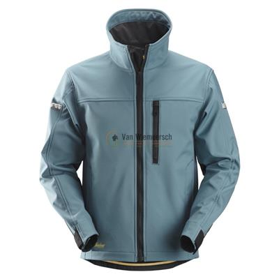 AW SOFTSHELL JACK 1200 PETROL/BLACK MT:XL REF:12005104007 SNICKERS