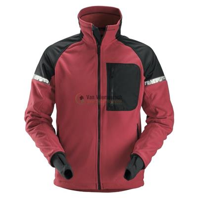 8005 AW WINDPROOF FLEECE JKT MT: XXL CHILI ROOD  REF:80051604008 SNICKERS