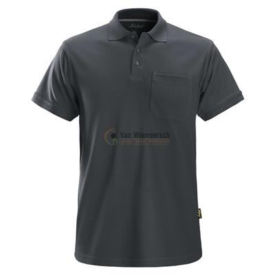 POLOSHIRT 2708 STEEL GREY MT:L REF:27085800006 SNICKERS